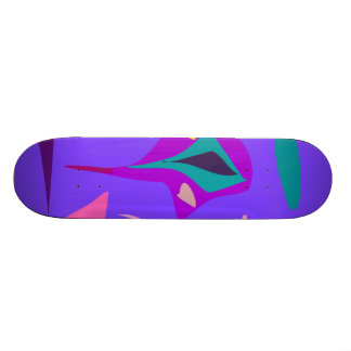 Easy Relax Space Organic Bliss Meditation60 21.3 Cm Mini Skateboard Deck