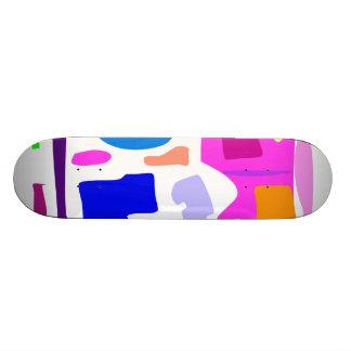 Easy Relax Space Organic Bliss Meditation69 21.6 Cm Skateboard Deck
