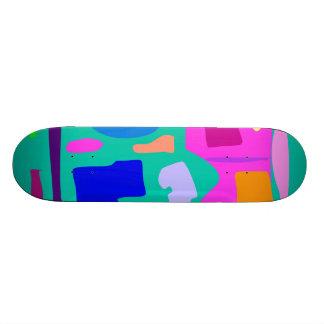 Easy Relax Space Organic Bliss Meditation70 Skate Board Deck