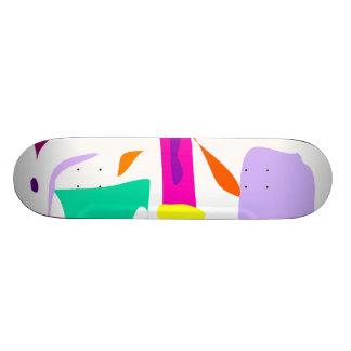 Easy Relax Space Organic Bliss Meditation74 Custom Skateboard