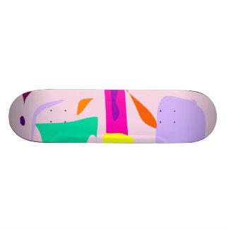Easy Relax Space Organic Bliss Meditation75 Custom Skateboard