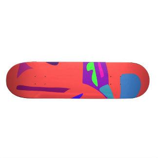 Easy Relax Space Organic Bliss Meditation80 Custom Skateboard