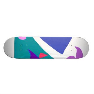 Easy Relax Space Organic Bliss Meditation99 Skate Deck
