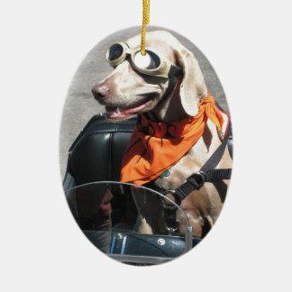 Easy rider christmas ornament
