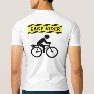 """Easy rider"" ebike cycling active tops for men"