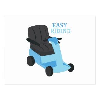 Easy Riding Postcard
