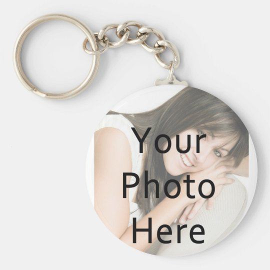Easy Single Photo Keychain