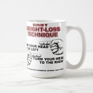 Easy Weight-Loss Funny Mug