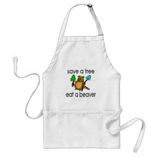 Eat A Beaver Apron