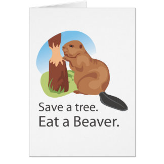 Eat A Beaver Cards