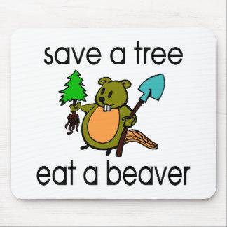 Eat A Beaver Mousepad
