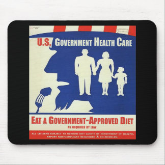Eat a Government Approved-Diet Mousepad