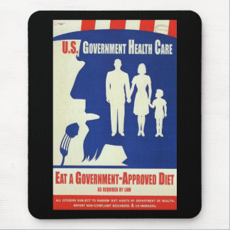 Eat a Government Approved-Diet Mouse Pad
