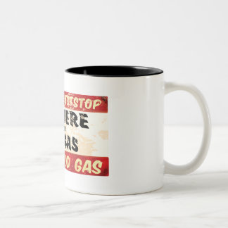 Eat and get gas coffee mugs