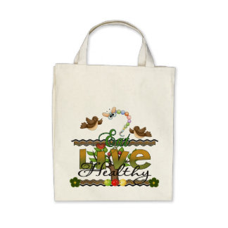 Eat and Live Healthy Bags