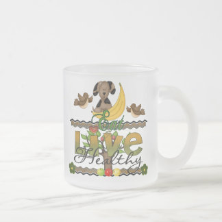 Eat and Live Healthy Mugs
