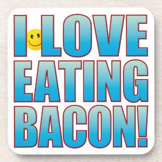 Eat Bacon Life B Coaster