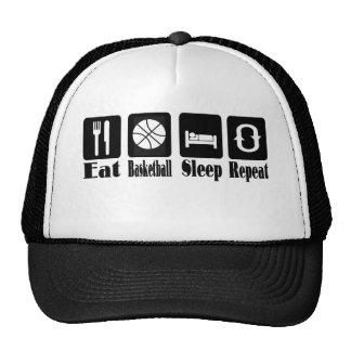 eat basketball sleep and repeat cap