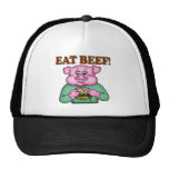 Eat Beef Funny T-shirts Gifts Cap