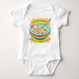 Eat breakfast! baby bodysuit