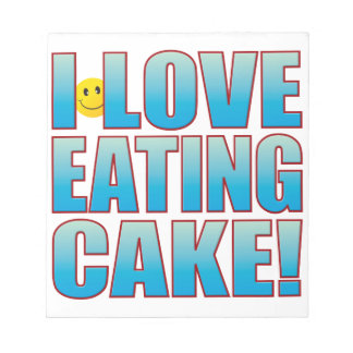 Eat Cake Life B Notepad