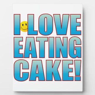 Eat Cake Life B Plaque