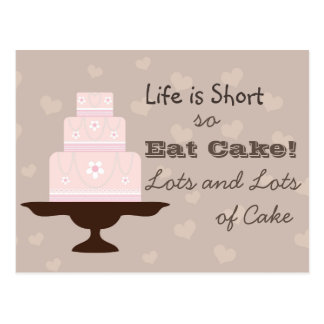 Eat Cake! Postcard