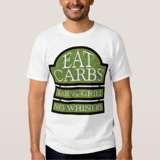Eat Carbs Bar & Grill - Shut-up Design Tshirts