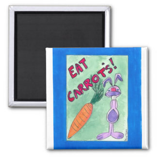 eat carrots  Magnet