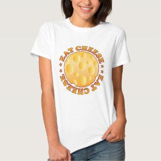 Eat Cheese Brown Tshirts