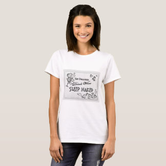 Eat Chocolate Drink Wine Sleep Naked T-Shirt