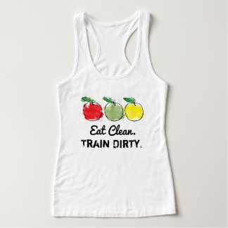 Eat Clean Train Dirty Workout Tank