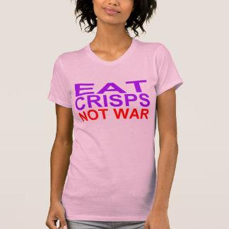 Eat Crisps Not War T-shirts