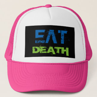 EAT DEATH TRUCKER HAT