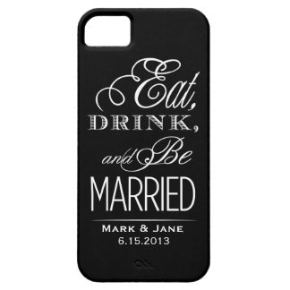Eat Drink and Be Married Barely There iPhone 5 Case