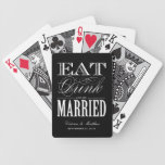 EAT DRINK AND BE MARRIED | HOLIDAY PLAYING CARDS