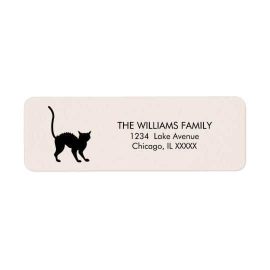 Eat Drink and Be Scary Halloween Address Labels