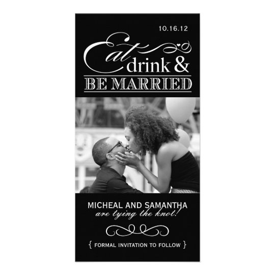 Eat, Drink & Be Married Save the Date