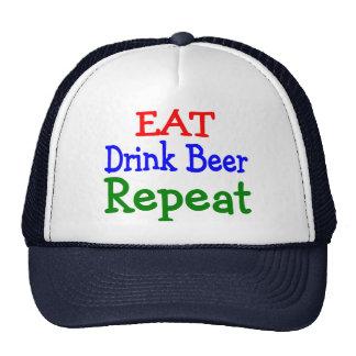 Eat Drink Repeat Mesh Hat