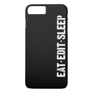 Eat Edit Sleep iPhone 8 Plus/7 Plus Case
