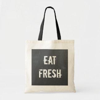 Eat Fresh Tote Bag