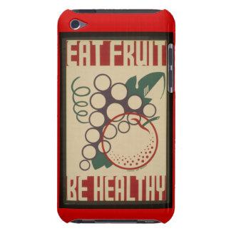 Eat fruit iPod case