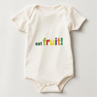 eat fruit! romper