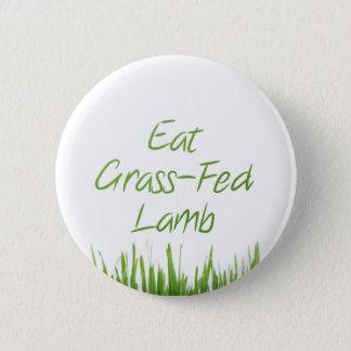 Eat Grass-Fed Lamb 6 Cm Round Badge