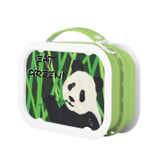 Eat Green! Panda Lunch Box