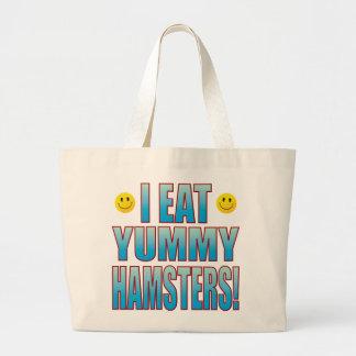 Eat Hamsters Life B Large Tote Bag