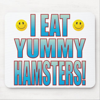 Eat Hamsters Life B Mouse Mat