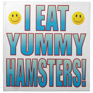Eat Hamsters Life B Napkin