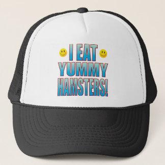 Eat Hamsters Life B Trucker Hat