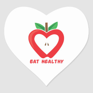 Eat Healthy Stickers